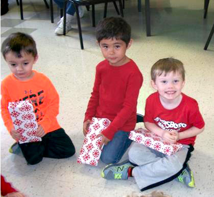 Preschool Christmas Party Kids