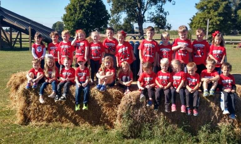 A Preschool Fun Trip to Reid's Orchard 2017