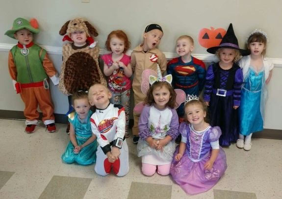 Preschool Halloween Party 2017